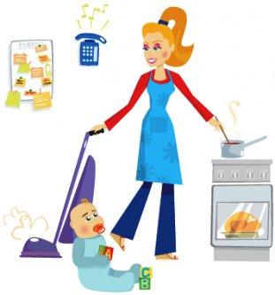 Multi-tasking-Mom
